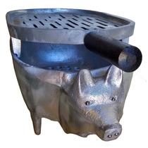 Churrascaria Churrasqueira Formato De Porco Porcao Oferta