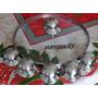Caixa Com 6 Pegador Pomel De Tampa De Vidro Temperado Inox