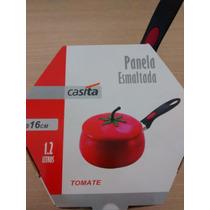 Panela Esmaltada - Formato Tomate - Divertop