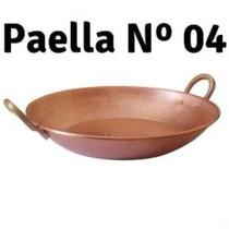 Paejeira Grande Nº4 / 40 Cm Diametro (nova) / Feita De Cobre