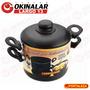 Conjunto Para Cozimento À Vapor De Alúminio Black 20 Cm