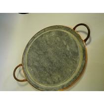 Grelha Para Carnes Em Pedra Sabão P 25cm