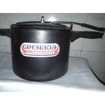 Panela De Pressão 7 Litros Aluminio Craquelado - Grenada