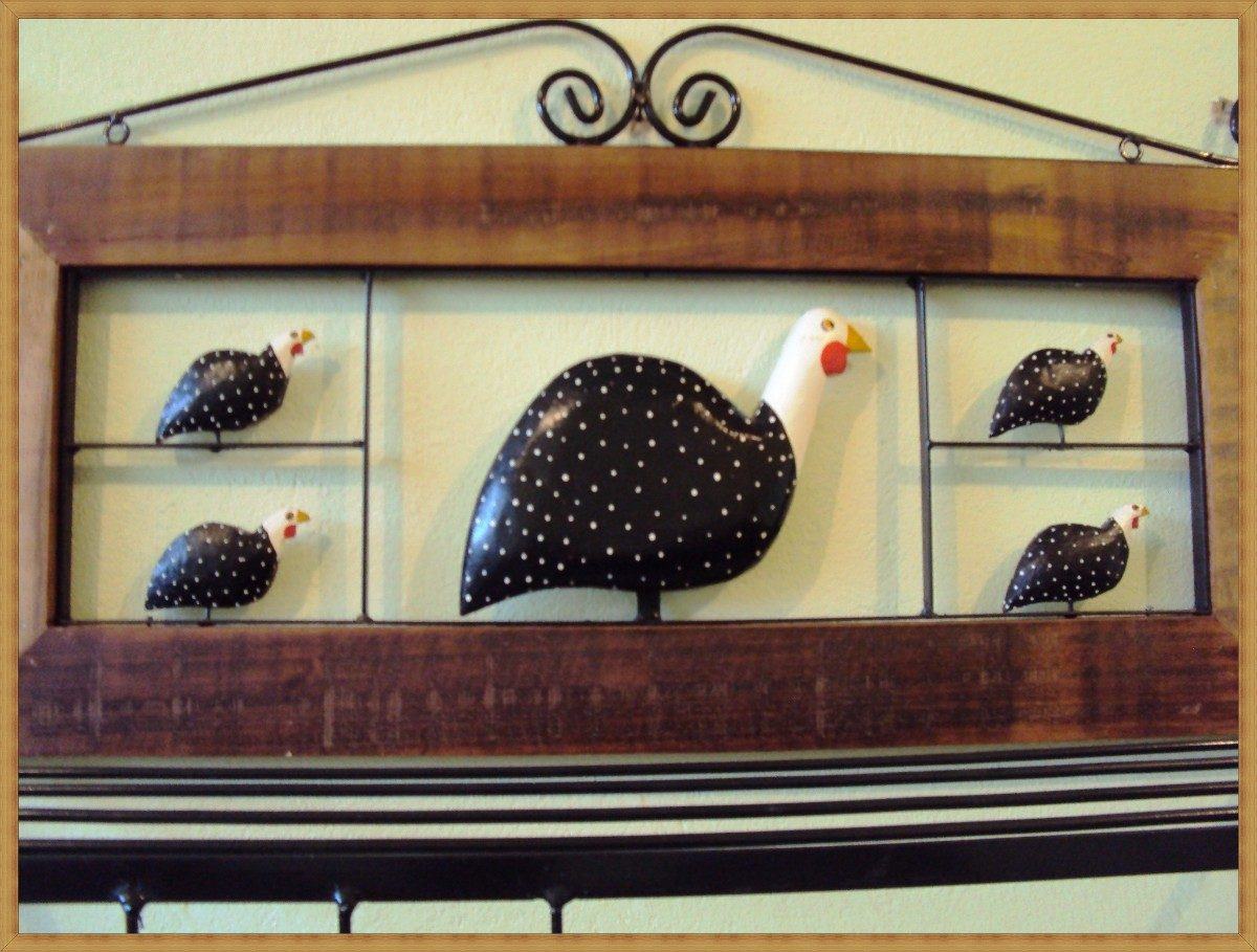 Another Image For decoração de cozinha galinha da angola