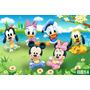 Papel De Parede Quarto De Bebê Baby Disney Pooh Fosco - M²