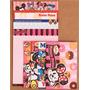 Kit Papel De Carta Minnie Mouse 4 Modelos Diferentes