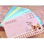 Lote 10 Envelopes Para Colecao De Papel De Carta - Ursinhos