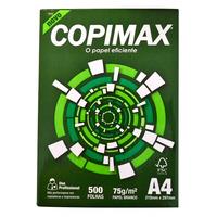 Caixa Lacrada Papel Branco Copimax 75 Gramas A4 5000 Folhas