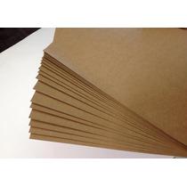 Papel Kraft Formato A-4 Liso Em 200 Gramas Pacote 100 Folhas
