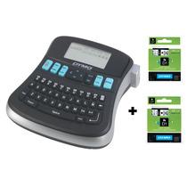 Rotulador Eletrônico Lm210d Etiquetador Dymo 2 Fitas Poliést
