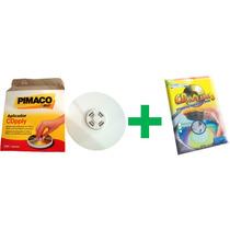 Kit 1 Aplicador + 50 Etiquetas Adesivas Para Cd / Dvd