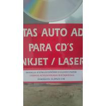 Pacote De Etiqueta Fotográfica Pra Cd E Dvd - Cd Lac