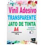 Adesivo Em Vinil Transparente Para Jato De Tinta