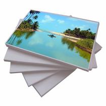100 Folhas Papel Foto Texturizado Casca De Ovo A4 230gr.