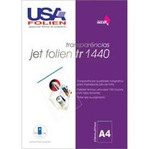 Transparencia P/jato De Tinta Jet Folien A4 75mc C 50 Unid