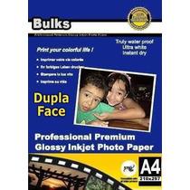 Papel Fotográfico Glossy À Prova D´água 140g A4 - 100 Folhas