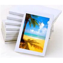 500 Folhas Papel Fotográfico Adesivo Glossy A4 Brilhante