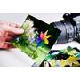 Papel Adesivo Brilhante A4 Glossy Fotografico 100 Folhas