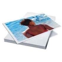 Papel Adesivo Fotográfico Glossy 100 Folhas