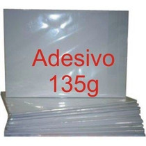 Papel Fotografico Adesivo A4 Glossy Brilhante 135 Gr