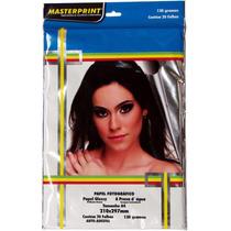 Papel Fotografico Adesivo Glossy A4 130 Gr 20fls Masterprint