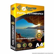 Papel Fotografico 230 Gramas A4 - 100 Folhas