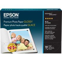 Papel Glossy Premium Epson Para Fotografia, 4x6 100 S041727
