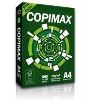 Papel Sulfite A4 Branco Copimax 75g - 5 Resmas C/500fls Cada