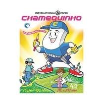 Papel Sulfite A4 75g Resma 500 Folhas Chamequinho Chamex