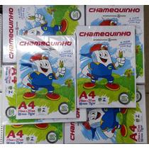 Papel Sulfite A4 1 Pacote Com 100 Folhas Chamequinho Chamex.