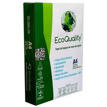 Papel Sulfite A4 Pacote C/500 Folhas Brancas Ecoquality