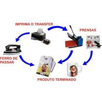Impressão De Folha Transfer Tam. A4 21x29_papel Transfer