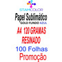 Papel Sublimatico Gold A4 120 Gramas, Pacote 100 Folhas P5