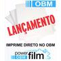 Obm Power Film A4 Transfer Sublimação - Pacote C/ 100 Folhas