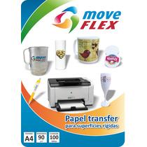 Papel Transfer Laser Para Caneta, Caneca Plástica, Metal