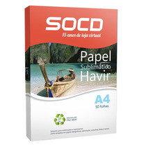 Papel Para Sublimação A4 - 50 Folhas Havir