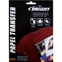 Papel Transfer Dark Bright Para Tecido Escuro Pacote 50 Fls