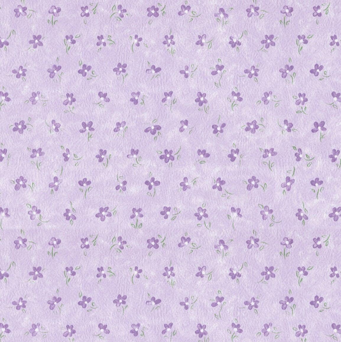 Papel de parede floral lil s 10 metros x 52cm bobinex - Paredes de papel ...