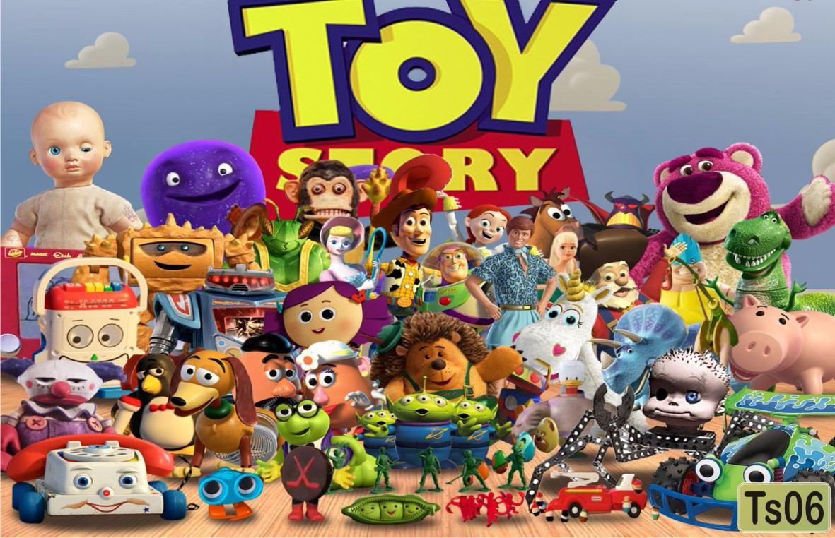 Papel De Parede Para Quarto Toy Story Redival Com ~ Papel De Parede Para Quarto Infantil Personagens