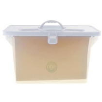 Arquivo Empilhável Cristal 6 Pastas Suspensas Kraft - Dello