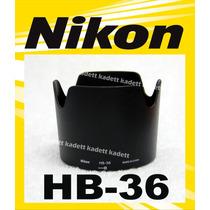 Parassol Nikon Hb-36 P/ Nikkor 70-300mm F/4.5-5.6g If-ed