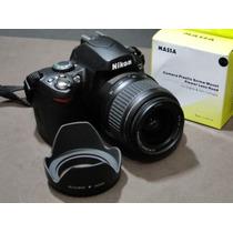 Para Sol Pétala 52mm Nikon D40 D60 D3100 D3000 D5000 Parasol
