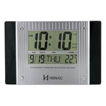 Relógio De Parede Digital Herweg 6401 - Novo Com Garantia
