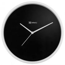 Relógio Parede Herweg 6639 021 Preto Analógico - Refinado