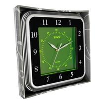 Relógio De Parede Quadrado Fluorescente Yi15083