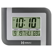 Relógio De Parede Digital Herweg 6404 - Frete Grátis