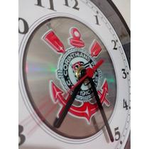 Relógio De Parede - Corinthians - Frete Grátis