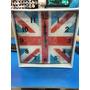Relógio Parede Vidro Reino Unido Uk Inglaterra Grã Bretanha