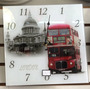 Relógio De Parede Londres London Uk Reino Unido Inglaterra