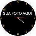 Relógio Parede Redondo Beijinho No Ombro Valesca Popozuda